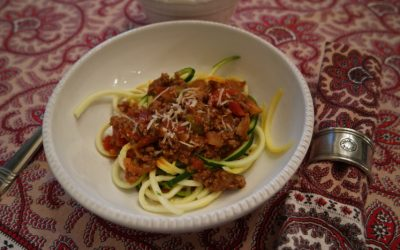 HEARTY, GRAIN-FREE SPAGHETTI