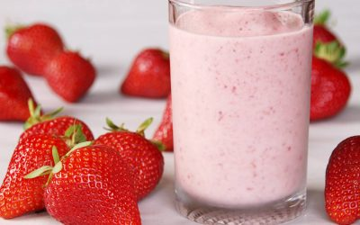 BERRY ALMOND PROTEIN SMOOTHIE RECIPE